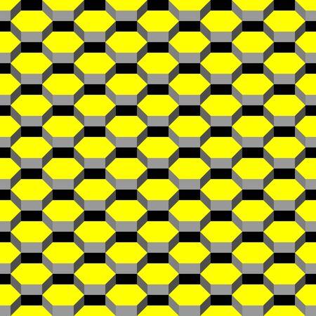 honeycomb seamless pattern, illustration