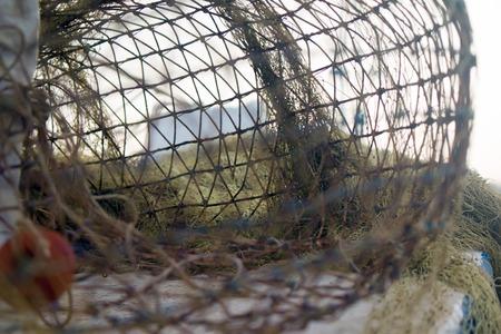 Fishing net, background.
