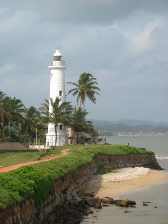 Beacon in Galle, sri lanka, fort Galle, 2006