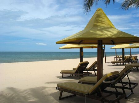 Resort Mui Ne, beach rest by the South-Chinese sea
