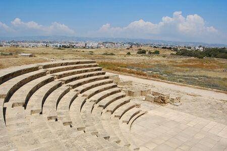 amphithéâtre de paphos, Chypre