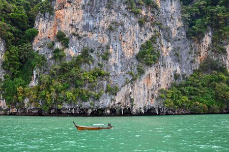 Tropical islands and lagoons near to Phuket. Thailand Stock Photo - 8789035
