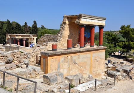 Knoss palase  Arhaeological museum open-air  Crete, Greece Stock Photo - 15079842