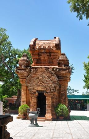 linga: Towers were built by the Cham civilization  Nha Trang, Vietnam Stock Photo