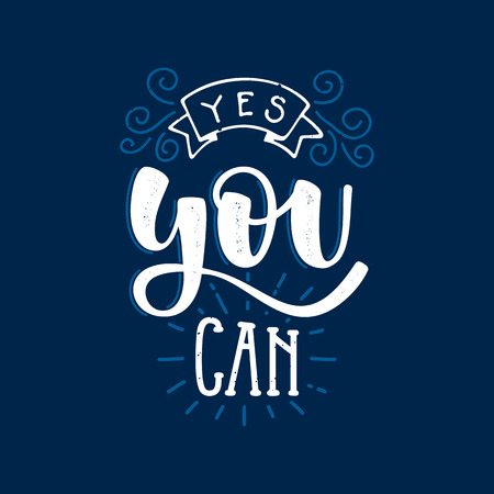Yes You Can Inspirational And Motivational Quotes Hand Painted Gorgeous Free Motivational Quotes