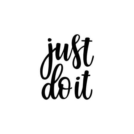 Just Do It Quotes Interesting Just Do It Inspirational And Motivational Quotes Hand Painted