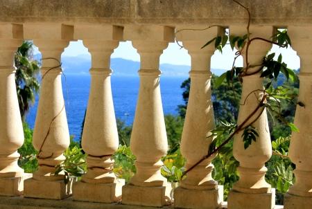 Light rail and Mediterranean Sea