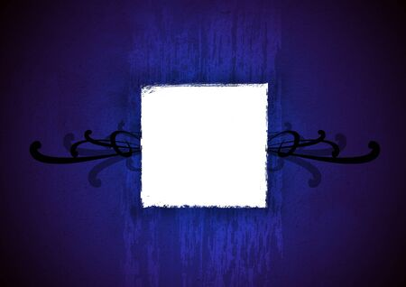 Dark blue Background with ornament