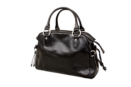 Black bag isolated Stock Photo - 18008874