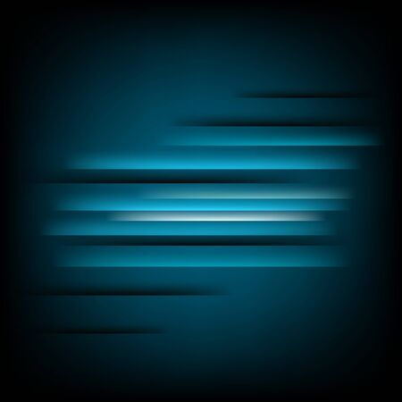 Abstract square blue background   Illustration