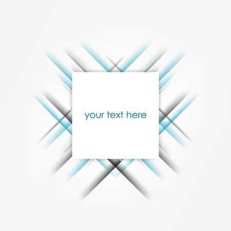 Abstract square background with place for text.