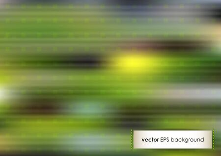 Horizontal green blurred background with place for text   Vector