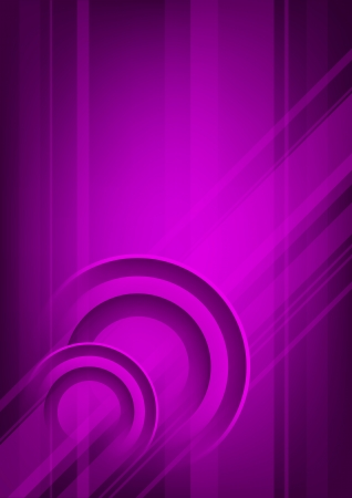 Abstract vertical violet background with circles