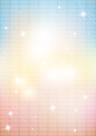 Abstract blurred background with stars   Vector