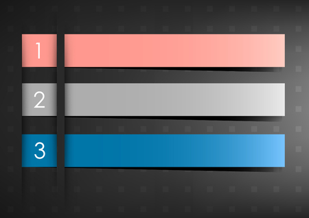 Horizontal dark background with numbers and place for text   Stock Vector - 22707211