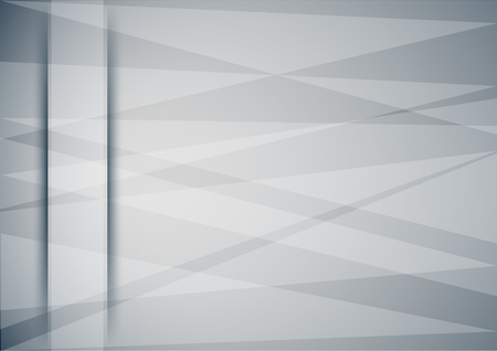 Abstract horizontal grey background