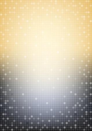 salon de belleza: Fondo negro y beige mosaico Vertical