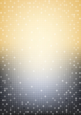 clubs: Vertical mosaic black and beige background
