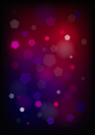 Vertical blurred background with graphic elements   Vector