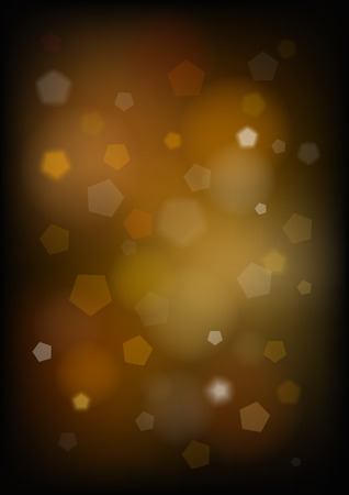 Vertical blurred background with pentagons