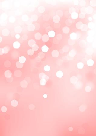 グラフィック要素と垂直ピンクの背景がぼかし