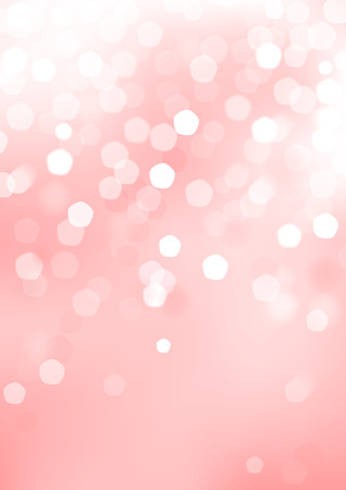 cosmetic: Vertical pink blurred background with graphic elements   Illustration