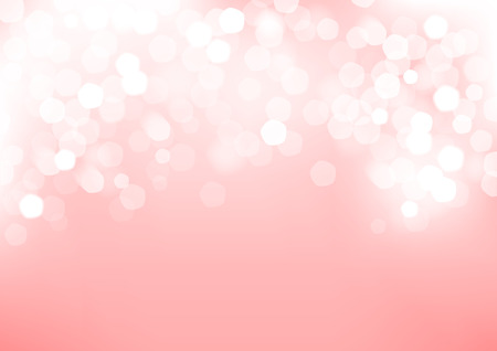 Horizontal pink blurred background with graphic elements   Illustration