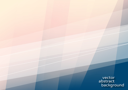 Horizontal abstract background with lines and place for text.