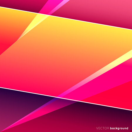 Colorful square abstract design.