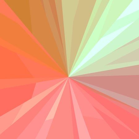 正方形の抽象的なイラスト。