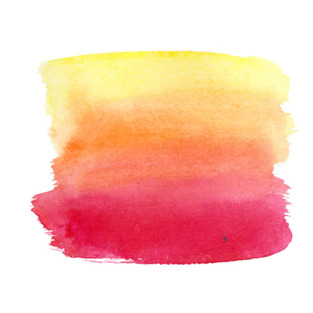watercolor brush: Abstract watercolor brush strokes painted background. Texture paper. Vector illustration.