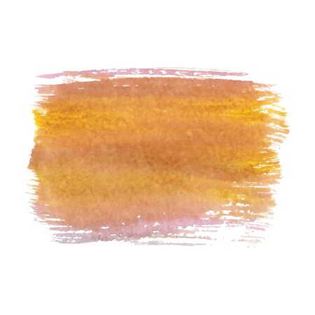 Abstract watercolor brush strokes painted background. Texture paper. Vector illustration.