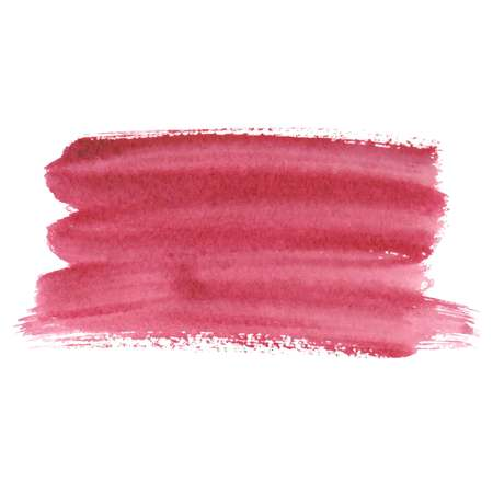 Pink abstract watercolor brush strokes painted background. Texture paper. Vector illustration. Illustration