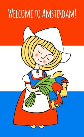 dutch girl: Welcome to Amsterdam