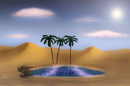 desert oasis: oasis in the desert