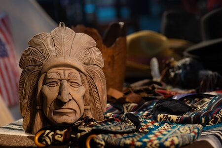Attributes of Native American Culture at a Native American Festival.