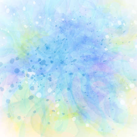 Abstract colorful grunge blue-green background. Watercolor imitation vector texture for used for wedding invitations, greeting cards, wallpaper, printing on the packaging paper, textiles. Illustration