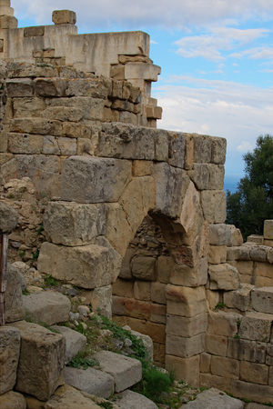 The ancient ruins of the Greek settlement. Tindari. Sicily.