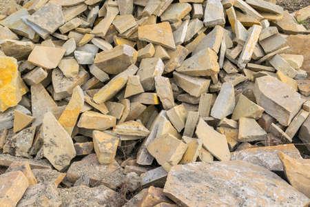 raw marble stones