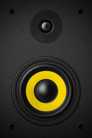 sound speaker: Stereo music audio equipment bass sound speaker