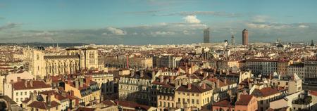 Lyon city views