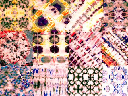 Drawn Carpet. Arabic Yellow Patchwork. Handdrawn Template. Colorful Spring Backdrop. Oriental Red Background. Drawn Carpet. Reklamní fotografie