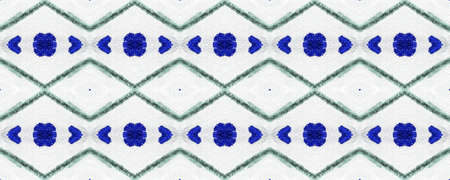 Air Endless Pattern. Monochrome Tracery Shape. Watercolor Wallpaper. Monochrome Watercolor Paper. Exotic Ornate Element. Endless Painted Motif.