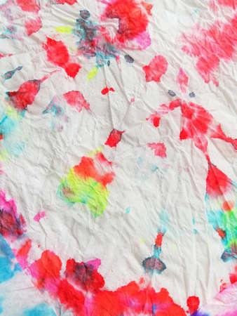 Grunge Picture. Fantasy Texture. Colorful Picture. Drawing Multi Paper. Soft Background. Aquarelle Aquarelle. Dyed White Grunge.