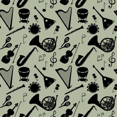 楽器とのシームレスなパターン。