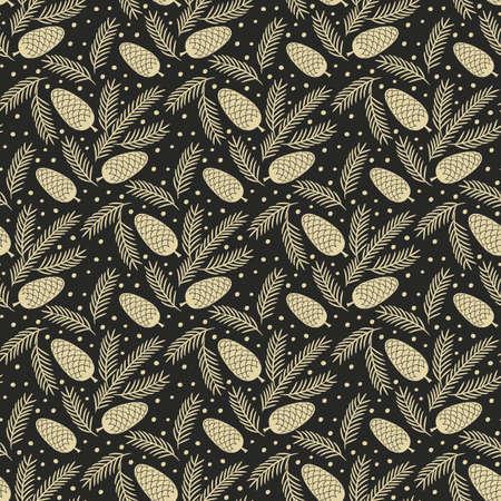 Christmas pattern design.