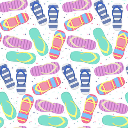 Seamless pattern with cute slates. Vector illustration.