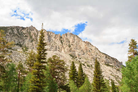 inyo national forest: Mount in Inyo National Forest Park, California, USA