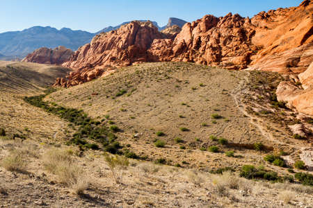 rock canyon: Red Rock Canyon Conservation Area, Nevada, USA