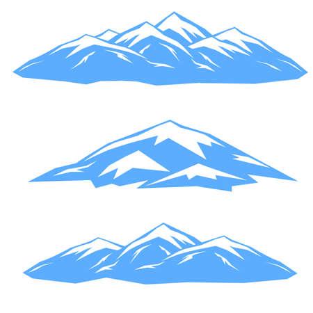 The set of blue ridges.